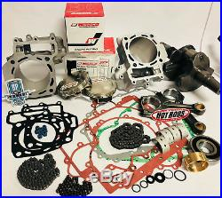 08-12 Teryx T-rex Rebuild Motor Hotrods Wiseco Complete Top Bottom End Parts Kit