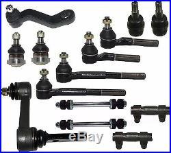 14 Pcs Kit Complete Front Suspension Parts for 1994-1996 Dodge Ram 2500 3500 RWD