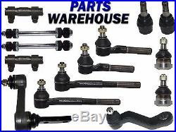 14 Pcs Kit Complete Front Suspension Parts for 1997-1999 Dodge Ram 2500 3500 2WD