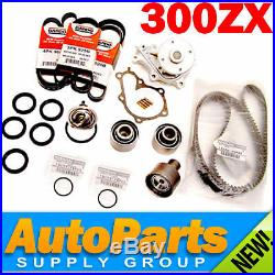 300ZX NON-TURBO Complete Timing Belt+Water Pump Kit Genuine & OEM Parts 1994-96