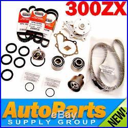 300ZX TURBO Complete Timing Belt+Water Pump Kit Genuine & OEM Parts 1994-1996