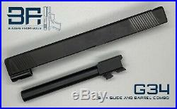 BA Glock 34 Slide and Barrel (Aftermarket) with Complete Upper Parts Kit