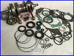 Banshee Bottom End Rebuild Kit Crank Shaft Rods Complete Engine Motor Parts