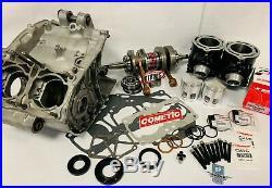 Banshee Rebuild Motor Parts Kit Complete CASES GENUINE OEM CYLINDERS Top Bottom