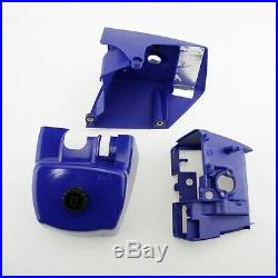 Blue Complete Repair Kit Parts For MS660 066 Chainsaw Crankcase Fuel Tank