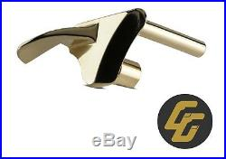 Complete 9 piece 1911 24k Gold parts kit 38 super 45 acp 10mm trigger hammer pin