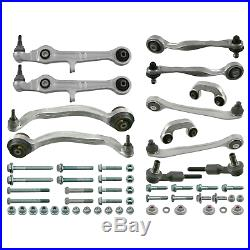 Front Control Arm Kit Inc Stabiliser Links Fits Audi A4 quattro Febi 24802