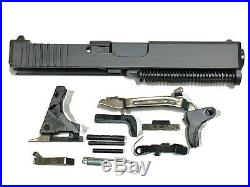 G19 complete Slide-black-RMR cut-OEM factory new lower parts kit- Free Shipping