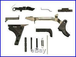 G19 complete Slide-black-double serrations-with lower parts kit Free Shipping