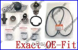 GENUINE TIMING BELT & WATER PUMP and COMPLETE KIT HONDA ACURA V6 FACTORY PARTS