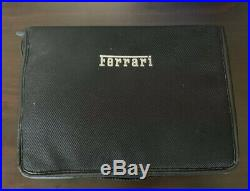 Genuine Ferrari F430 Scuderia Complete Tool Kit Bag OEM Used Part# 244310