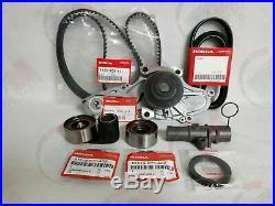 Genuine/oem Complete Timing Belt & Water Pump Kit Honda/acura V6 Factory Parts
