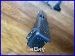 Glock 17 Gen 3 Factory 9mm Slide Complete With OEM Lower Parts kit & NS