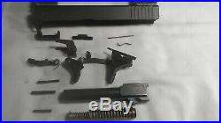 Glock 23 COMPLETE Slide Parts Kit W BOX TRIGGER BARREL. 40 CAL FITS 19 26 GEN 4