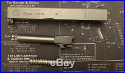Glock 23 Gen 4 Slide OEM Complete & Complete Lower Parts Kit