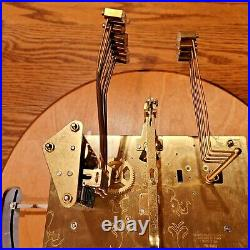 Howard Miller Modern Grandfather Clock Complete Kit Chimes Weights Pendulum