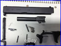 New Glock 19 Gen 3 complete slide with lower parts kit