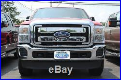 OEM 2011-2015 Ford Super Duty XLT Lariat Chrome Grille Grill Complete Genuine