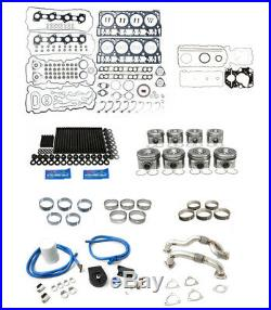 Rudy's Engine Overhaul Kit with Up Pipes 2008-2010 Ford 6.4 Powerstroke Super Duty