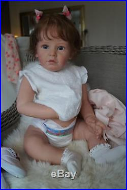 Soana Toddler Doll Kit Vinyl Parts To Make A Reborn Baby-not Completed