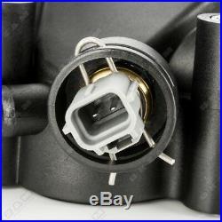 Thermostatgehäuse Kühlmittel Sensor Flansch für FORD FIESTA V 5 FUSION 1.3
