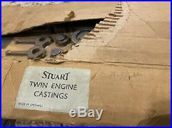 Unmachined Stuart Turner Steam Engine Twin Launch Kit 34-50-71382 Part Complete